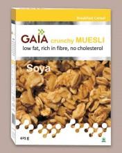 Gaia launches soya muesli
