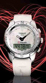 A multi-faceted watch by Tissot