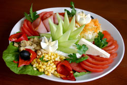 a plate of yummy salad