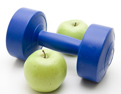 Apples and Dumbbells