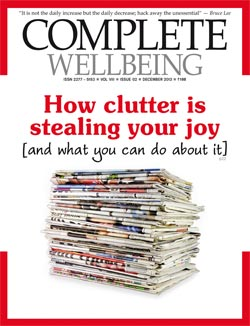 Complete Wellbeing December 2013 issue cover