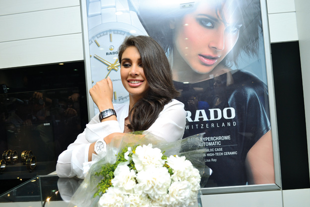 Lisa Ray at the launch of Rado watch in Kolkata in June 2013