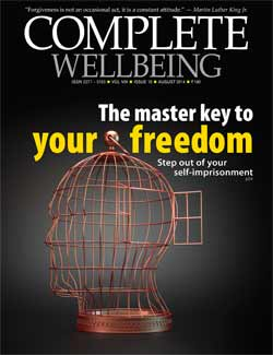 Complete Wellbeing AUGUST 2014 issue cover