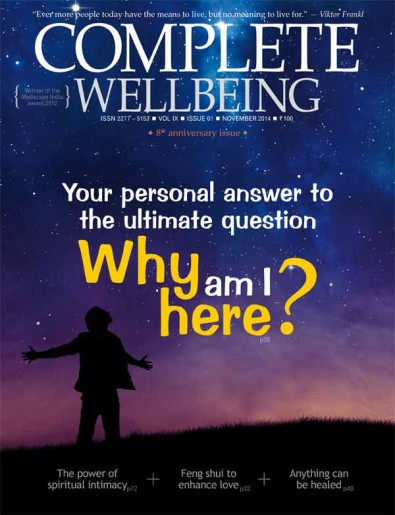 November 2014 issue: Finding meaning in life
