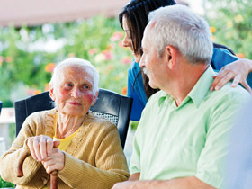 Often the emotional problems of the elderly are overlooked even by their loved ones