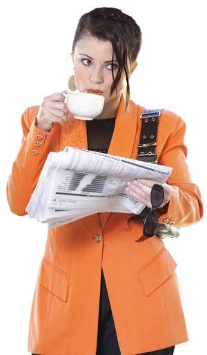 Driking tea/coffee at work