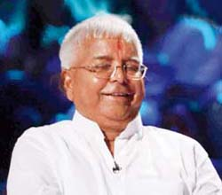 Happiness Freak Lalu Prasad Yadav