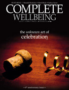 November 2012 Complete Wellbeing cover snapshot