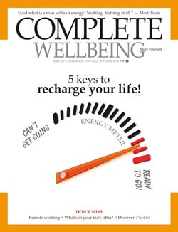 Complete Wellbeing June 2013 issue cover