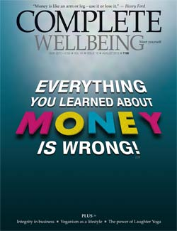 Complete Wellbeing August 2013 issue cover