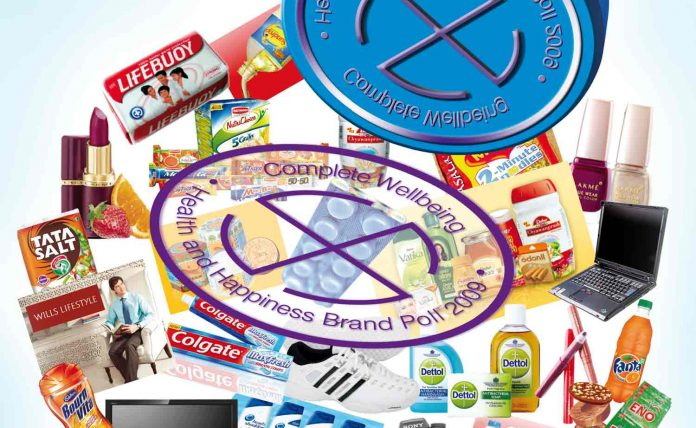 All product brands and stamp of Complete Wellbeing