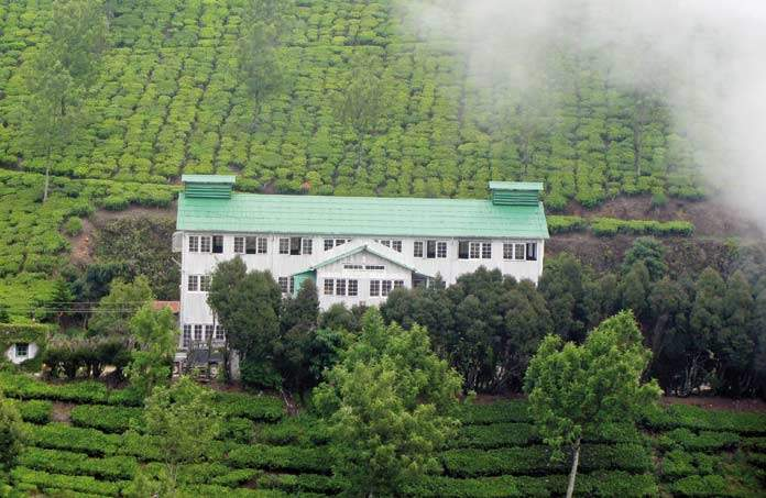 Kolukkumalai - oldest tea factory