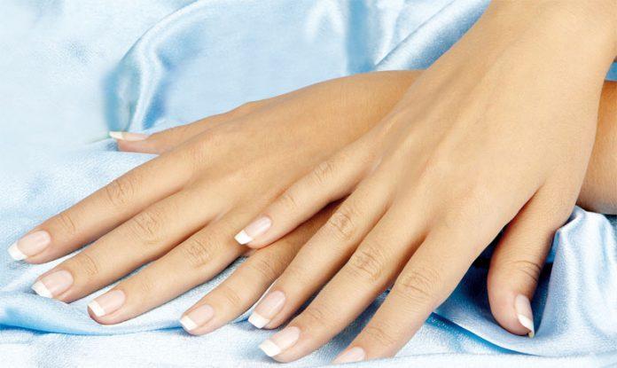 Neat long nails