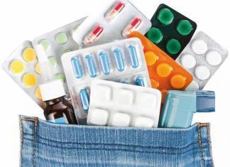 pocket full of medicines