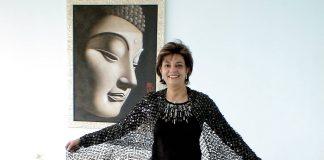 Anita Moorjani at her home in Hong Kong
