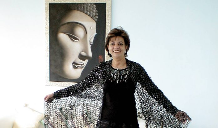 Anita Moorjani at her home in Hong Kong