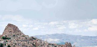 Cappadocia land of rocky cones and giant pillars