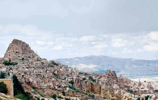 Cappadocia land of rocky cones and giant pillars