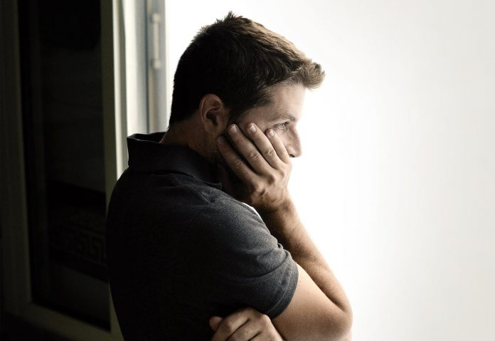 Man lost in thoughts: suffering from codependancy