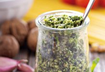 Rocket and Walnut Pesto