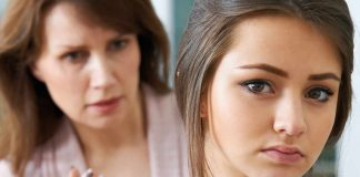 Woman advising teenage girl