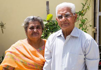 Mr. and Mrs. Sharma