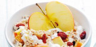 Bircher Muesli with Apple and Cinnamon