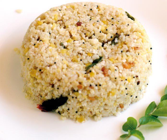 Brown rice upma