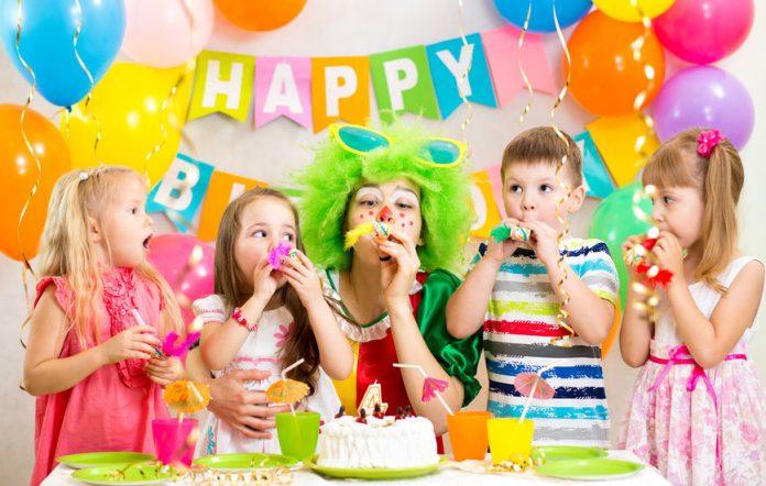 kid's birthday party