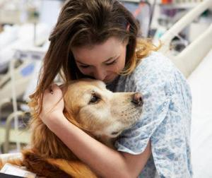 An emotional support animal is just one surprising path to inner peace
