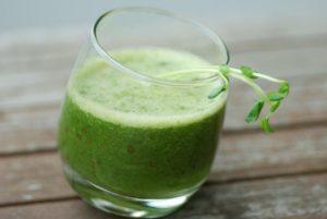 microgreens smoothie