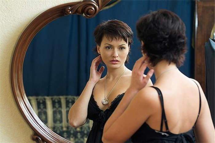 Image result for woman mirror