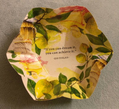 The Hillcart Tales teabag unwrapped