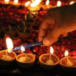 diwali earthen diyas, eco-friendly