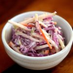 apple and red cabbage salad