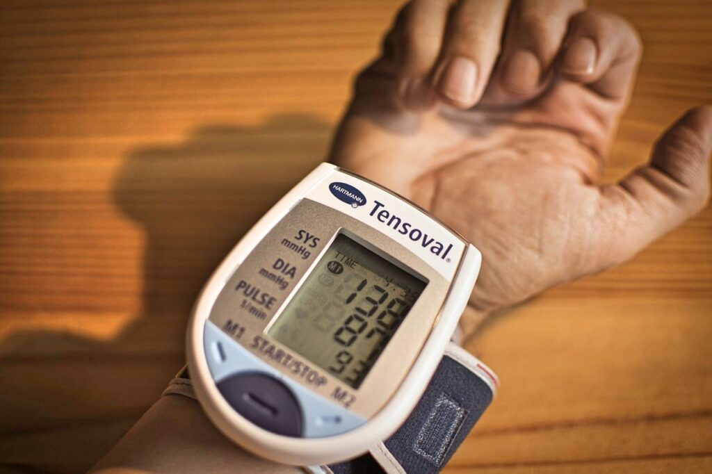 101 excuses: Blood pressure monitor