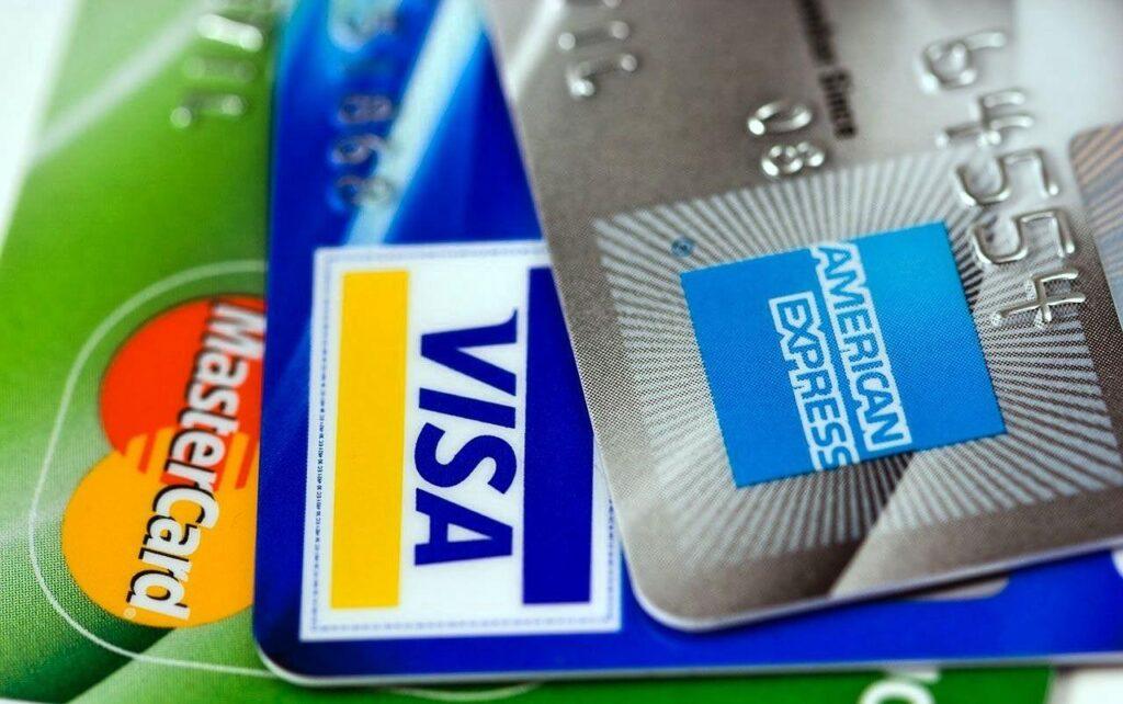 Credit cards: Visa, Mastercard, American Express